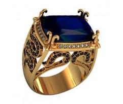 Эксклюзивное мужское кольцо art: 000460