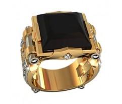 Эксклюзивное мужское кольцо art: 000470