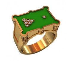 Эксклюзивное мужское кольцо art: 000480