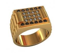 Эксклюзивное мужское кольцо art: 000510