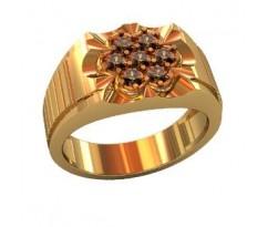 Эксклюзивное мужское кольцо art: 000540