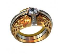 Эксклюзивное мужское кольцо art: 000580