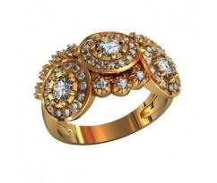 Перстень женский, ручная работа art: 000820