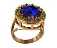 Перстень женский, ручная работа art: 000850