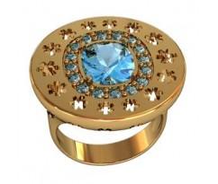 Перстень женский, ручная работа art: 000860