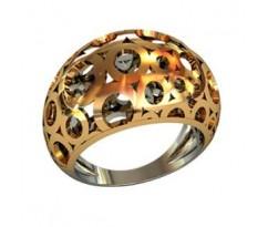 Перстень женский, ручная работа art: 000920