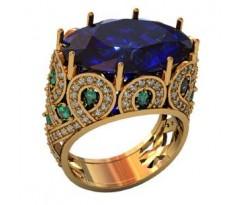 Перстень женский, ручная работа art: 000970