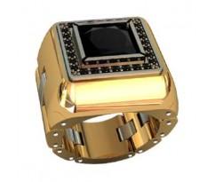 Эксклюзивное мужское кольцо art: 001030