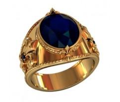 Эксклюзивное мужское кольцо art: 001060