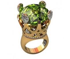 Эксклюзивное мужское кольцо art: 001090