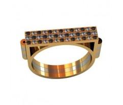 Эксклюзивное мужское кольцо art: 001100