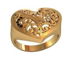 Перстень женский, ручная работа art: 001120