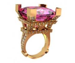 Перстень женский, ручная работа art: 001320