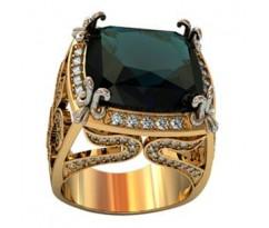 Эксклюзивное мужское кольцо art: 001550