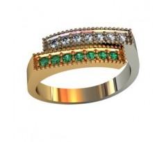 Эксклюзивное мужское кольцо art: 001570