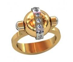 Эксклюзивное мужское кольцо art: 001590
