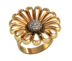 Перстень женский, ручная работа art: 001680