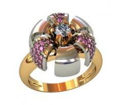 Перстень женский, ручная работа art: 001720