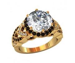 Эксклюзивное кольцо женское, ручная работа art: 002100
