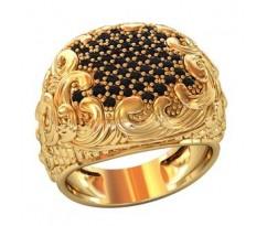Эксклюзивное мужское кольцо art: 002130