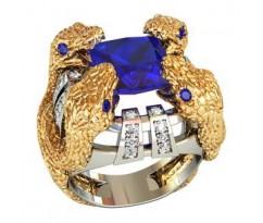 Эксклюзивное мужское кольцо art: 002140