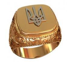 Эксклюзивное мужское кольцо art: 002150