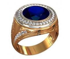 Эксклюзивное мужское кольцо art: 000560