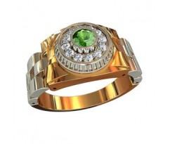 Эксклюзивное мужское кольцо art: 001580