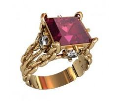 Эксклюзивное мужское кольцо art: 000900