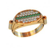 Эксклюзивное мужское кольцо артикул: 000520