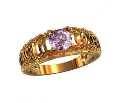 Охранное универсальное кольцо, ручная работа артикул: 000660