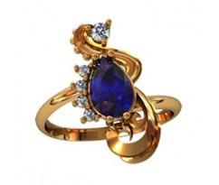 Эксклюзивное кольцо женское, ручная работа артикул: 000570
