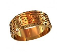 Женское кольцо индивидуальной обработки артикул: 210020