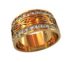 Женское кольцо индивидуальной обработки артикул: 210030