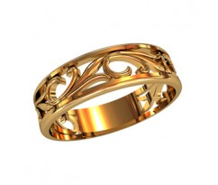 Женское кольцо индивидуальной обработки артикул: 210060