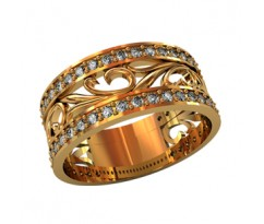 Женское кольцо индивидуальной обработки артикул: 210070