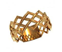 Женское кольцо индивидуальной обработки артикул: 210090