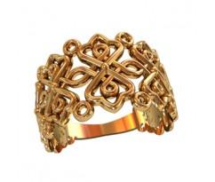 Женское кольцо индивидуальной обработки артикул: 210130