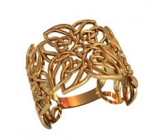 Женское кольцо индивидуальной обработки артикул: 210140