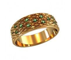 Женское кольцо индивидуальной обработки артикул: 210160