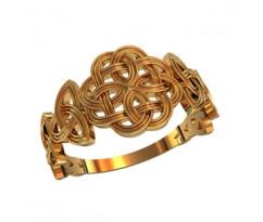 Женское кольцо индивидуальной обработки артикул: 210190