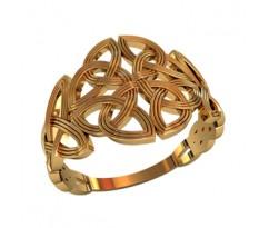 Женское кольцо индивидуальной обработки артикул: 210200