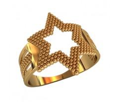 Женское кольцо индивидуальной обработки артикул: 210340