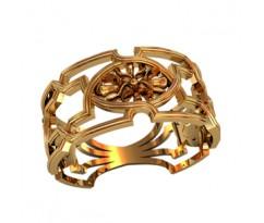 Женское кольцо индивидуальной обработки артикул: 210370