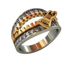 Перстень женский, ручная работа артикул: 210530