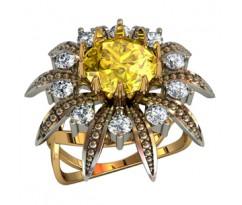 Перстень женский, ручная работа артикул: 210550