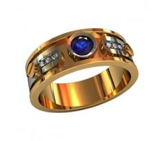 Эксклюзивное мужское кольцо артикул: 210580