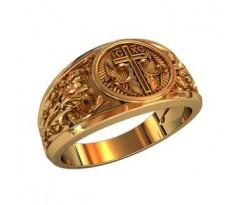 Охранное универсальное кольцо, ручная работа артикул: 210220