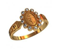 Охранное универсальное кольцо, ручная работа артикул: 210240