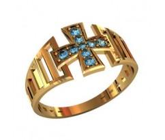 Охранное универсальное кольцо, ручная работа артикул: 210260